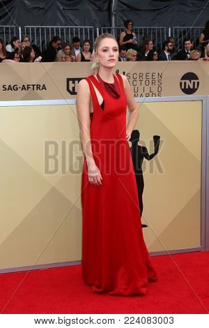 LOS ANGELES - JAN 21:  Maika Monroe at the 24th Screen Actors Guild Awards - Press Room at Shrine Auditorium on January 21, 2018 in Los Angeles, CA