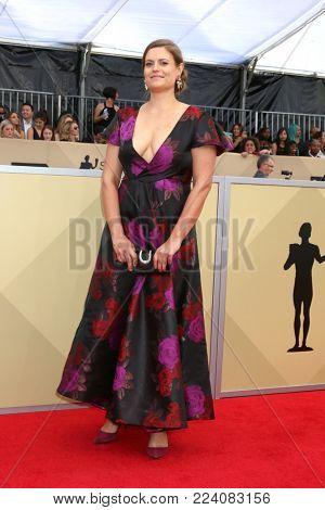 LOS ANGELES - JAN 21:  Marianna Palka at the 24th Screen Actors Guild Awards - Press Room at Shrine Auditorium on January 21, 2018 in Los Angeles, CA