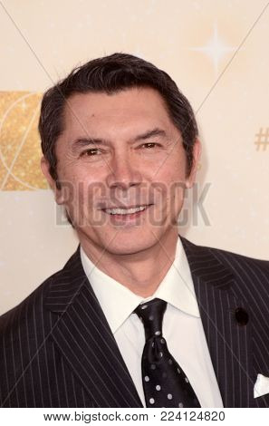 LOS ANGELES - JAN 27:  Lou Diamond Phillips at the 22nd Annual Art Directors Guild Awards at the Dolby Ballroom on January 27, 2018 in Los Angeles, CA