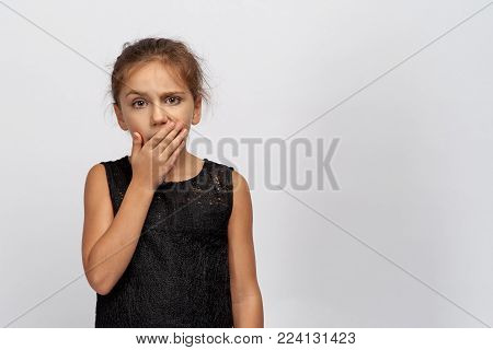 Beautiful baby shows in the chamber of boredom and sadness. The girl bothered much home lessons, tiny yawns and raises a high eyebrow as if to ask how much longer? She wants to sleep and she's bored