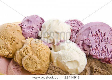 gelato isolata on white background