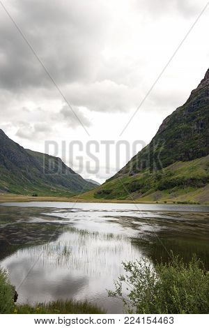 A hike in the beautiful valley of Glencoe