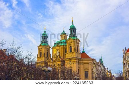 Church St. Nicolas in Prague, Old Town Square