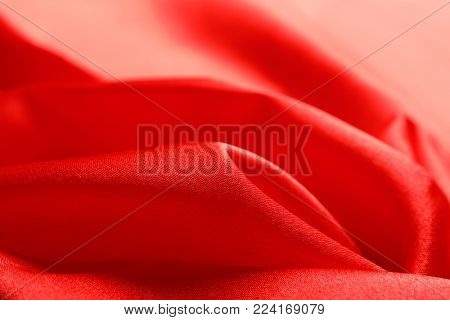 Draped fabric texture as background