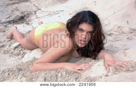 Bbw, On Beach