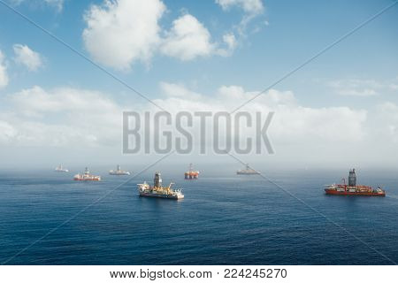 offshore oil and gas drillships