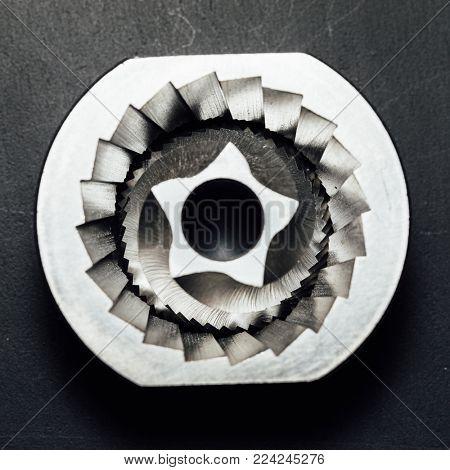 coffee machine grinder conical blades spare part