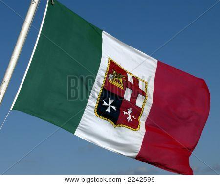 Italian Shipping Flag