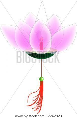 Lotus Lantern.Eps