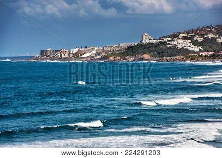 Ballito Bay is a holiday town near Durban in Kwazulu Natal, Ilembe municipality, South Africa