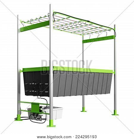 Grow Blcok with Hole for Hydroponics and aeroponic system