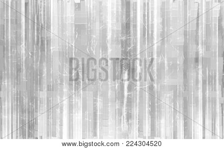 White pale extruded 3d cubes illustration background hd