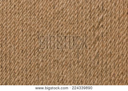 Natural Rope texture, rope background lines. Vertical strands of rope as background
