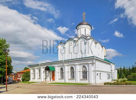 Vladimir, Russia - August 9, 2017: Holy Assumption Knyaginin Convent in a summer sunny day.