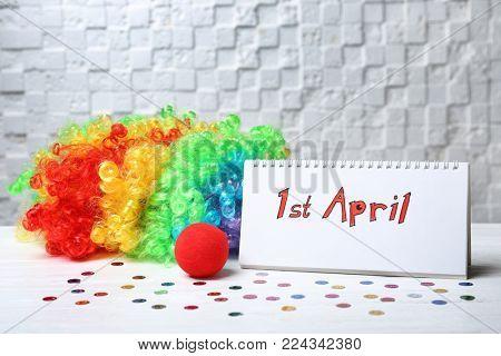 Calendar with phrase