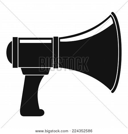 Noise of megaphone icon. Simple illustration of noise of megaphone vector icon for web