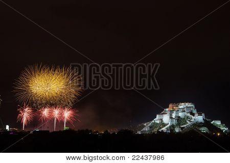 Potala Palace Firework