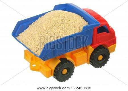 Millet in the truck