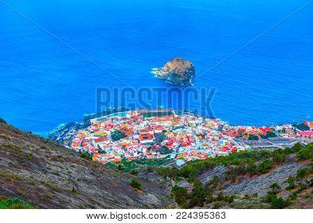 Garachico town on the coast of Tenerife, Canary Islands, Spain - Landscape