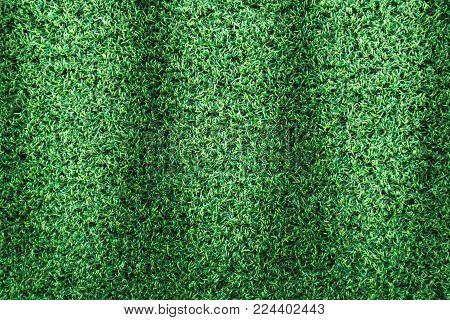 Grass texture or grass background. green grass for golf course, soccer field or sports background concept design. Artificial green grass.