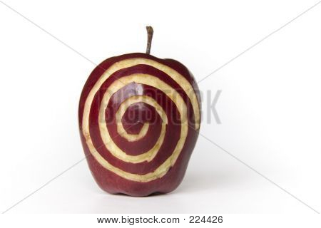 Apple With Sprial