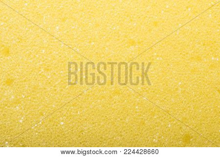 Sponge texture background. polymeric material with a foam structure. Abrasive sponge texture background.