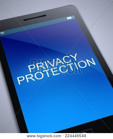Privacy Protection Concept.