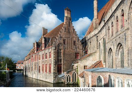 The Hospital of St. John (Oud Sint-Janshospitaal) was a medieval hospital in Bruges. It was founded in the mid-12th century.