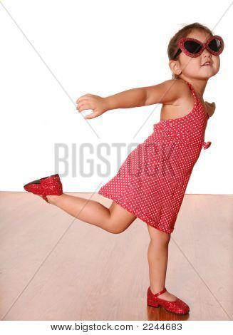 Cute Dancing Girl