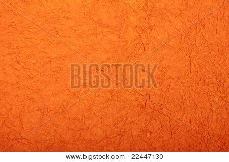 orange grunge handmade art paper