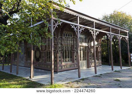 Abdulaziz Hunting Lodge, front left view - Istanbul - Turkey