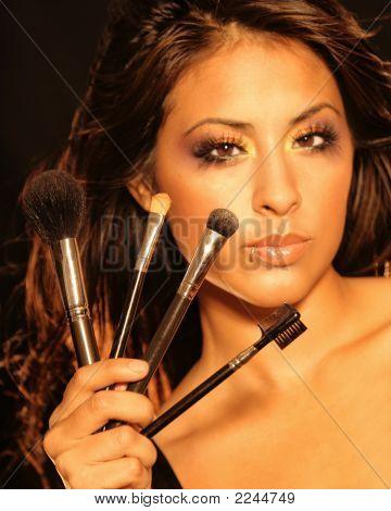 Woman & Make-Up