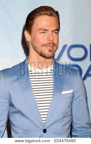 LOS ANGELES - JAN 30:  Derek Hough at the