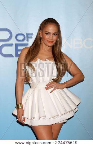 LOS ANGELES - JAN 30:  Jennifer Lopez at the
