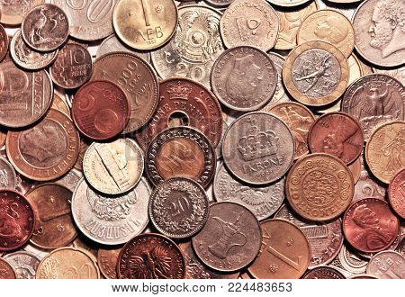 Background Coins Image Photo Free Trial Bigstock