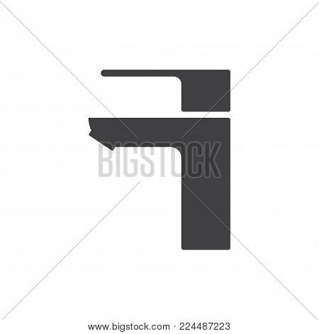 Black Water Tap Drop Icon Vector Photo Bigstock