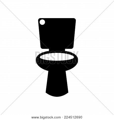 toilet icon. Bathroom and sauna element icon. Premium quality graphic design. Signs, outline symbols collection icon for websites, web design, mobile app, info graphics on white background