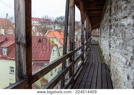 Toompea Castle, The Center Of The Government Of Estonia.