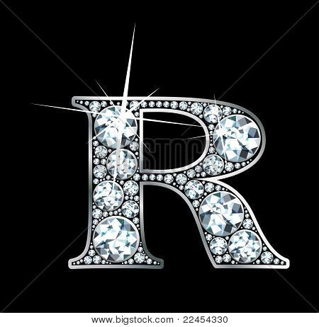 Neon Sign Letter R  Diamond. Letter R Images  Stock Photos   Illustrations   Bigstock