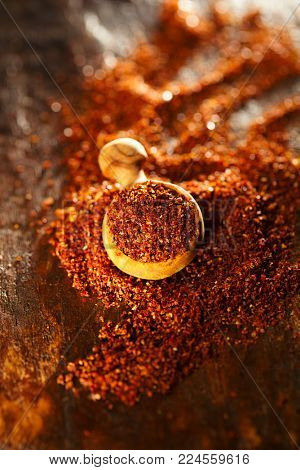 Natural ground sun dried tomatoes powder have a very particular flavour, both sweet and savoury