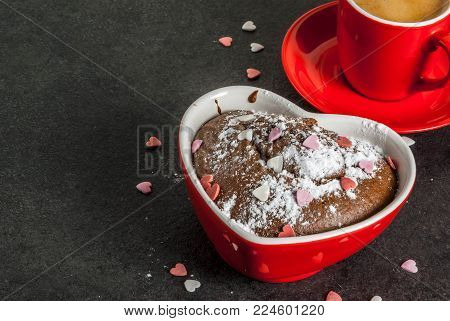 Valentine's Day Mug Cake