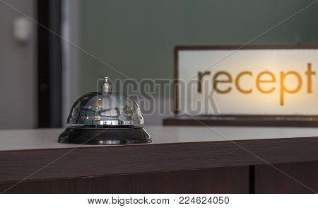 service bell on front counter bar hotel