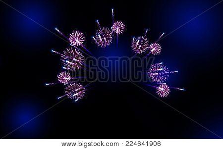 firework for celebration ,firework background on sky