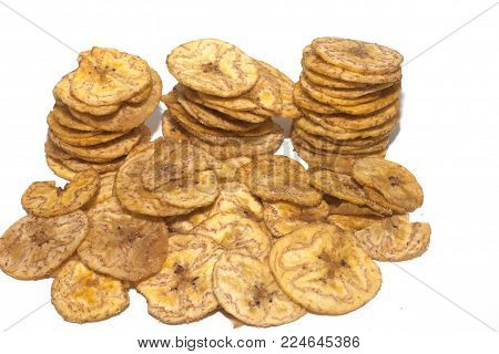 slices of fried bananas for aperitif slices of fried bananas for aperitif