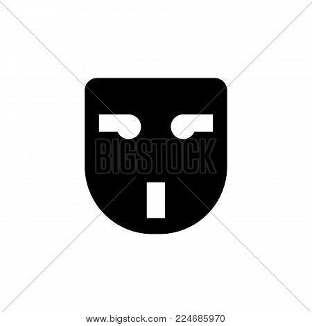 plug socket adapter icon on white background