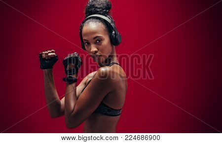 Fitness Woman Ready For Workout