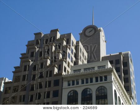 Building With Clock