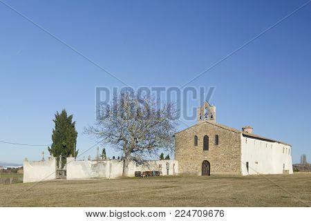 Basilica Santa Maria De Arcos, Tricio, La Rioja (spain).