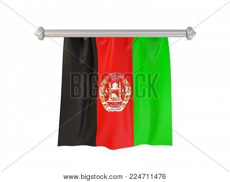 Pennant With Flag Of Afghanistan