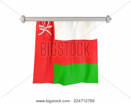 Pennant With Flag Of Oman
